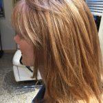 natural blonde hair color at salon in vero beach FL