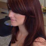multidimensional red hair color at James Geidner salon Vero Beach FL