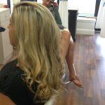 vero beach FL salon blonde hair style